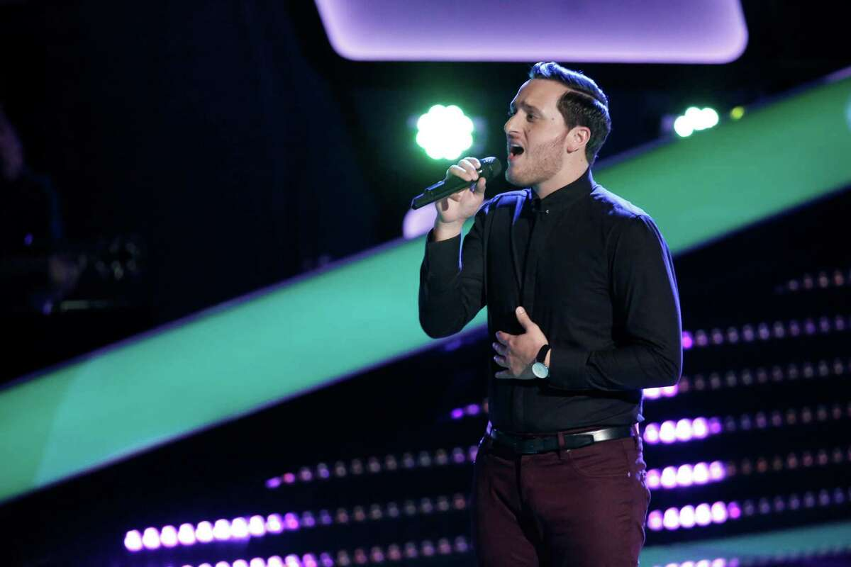 """Ponciano Seoane performs on """"The Voice"""""""
