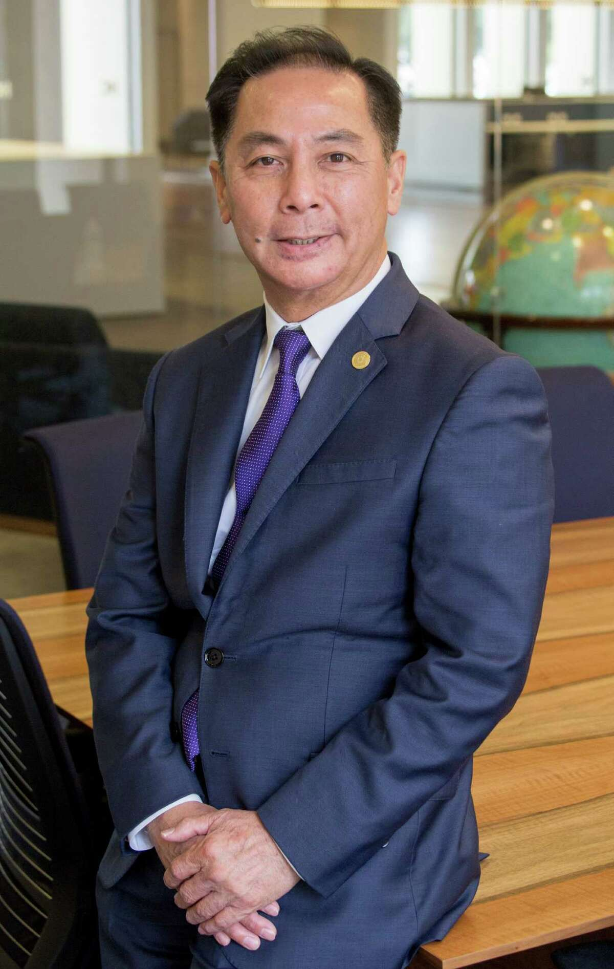Hubert Vo is a candidate for Texas House of Representatives, District 149 shown Thursday August 25, 2016. (JeremyCarter/ Houston Chronicle) 00068544A