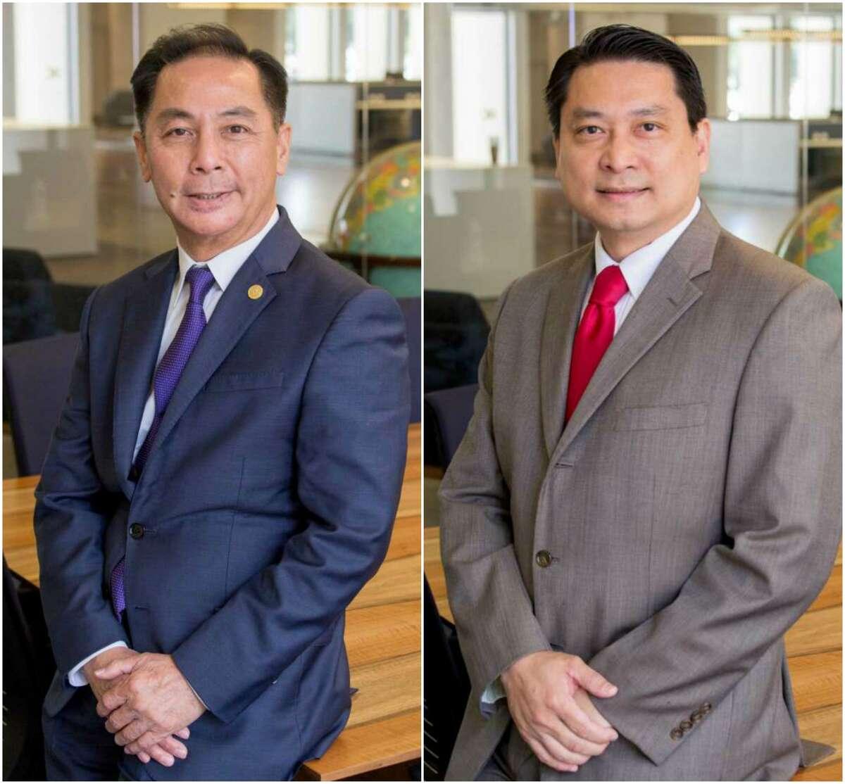 Hubert Vo (left) and Bryan Chu