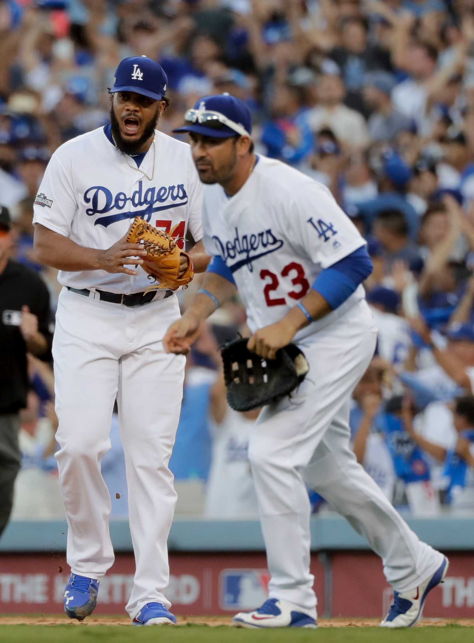 4db9a8145 Dodgers edge Nationals to force Game 5 - San Antonio Express-News