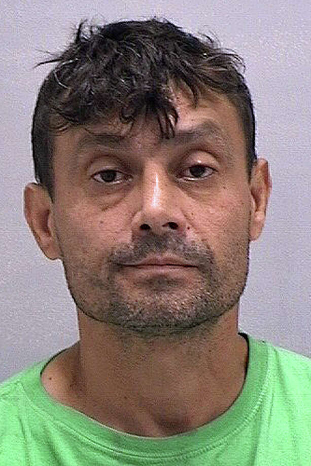 Miguel Roman, 43, of New Haven, was arrested on Oct. 2, 2016, after Orange police saw him driving an overloaded truck with scrap items and junk. Police later learned the truck was not properly registered or insured. Officers further learned that Roman was wanted by the State Police on an unrelated matter. Roman was taken into custody and charged with failure to properly secure a load, operating a motor vehicle without insurance, nisuse of a marker plate, operating an unregistered motor vehicle and failure to appear in court. Photo: Orange Police Department