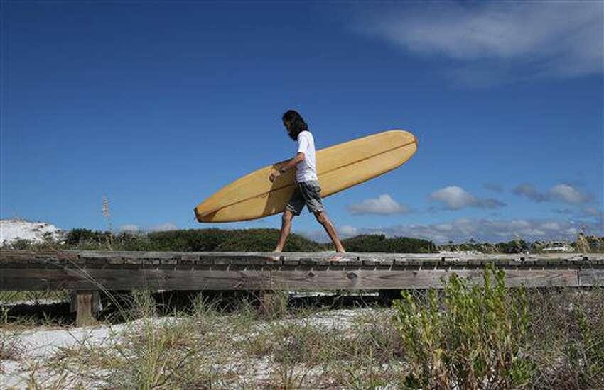 Hawaii: Surf board Invented by Joseph Banks, 1769Source: MidAmerica Nazarene University