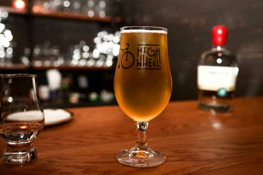 A beer on the bar at Dorćol Distilling + Brewing Co. Photo: Express-News File Photo
