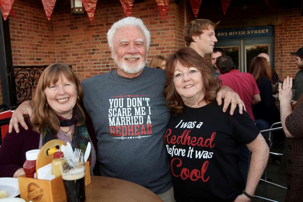 Were you Seen at The League of Extraordinary Red Heads' Fourth Annual Night of the Walking Red event at Ryan's Wake Public House in Troy on Tuesday, Oct. 11, 2016?