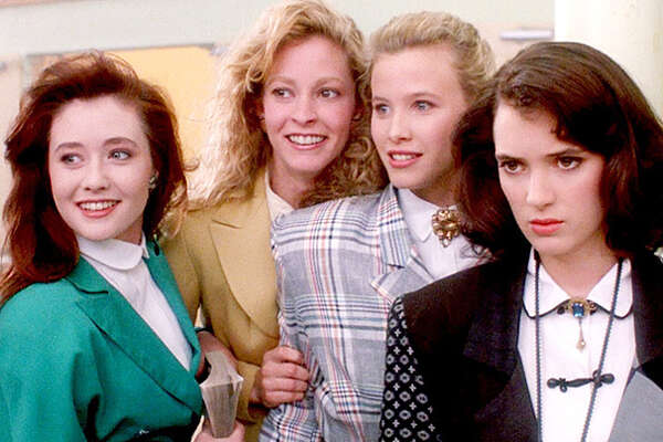 Winona Ryder played Veronica, while Shannen Doherty, Lisanne Falk and Kim Walker played the various Heathers in the 1988 movie 'Heathers.'