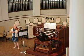 Strings and Pipes at Memorial Presbyterian Church in Midland.