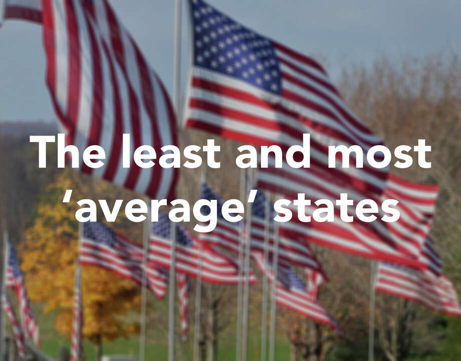 """Business Insider recently set out to find the most and least average states in the country.To determine what constitutes an average state, Business insider  looked at 38 social, economic, and demographic measures, mostly from the  Census Bureau's 2015 American Community Survey one-year estimates. States that most closely resemble the national average on key metrics are deemed """"average.""""Click through to see the top 10 least and most average states according to this study.  Photo: John Carl D'Annibale"""