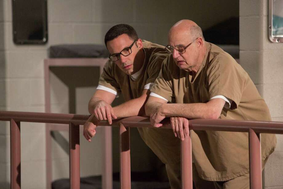 """Ben Affleck, left, and Jeffrey Tambor star in """"The Accountant."""" Photo: Chuck Zlotnick, HONS / ©2015 Warner Bros. Entertainment Inc. All Rights Reserved."""