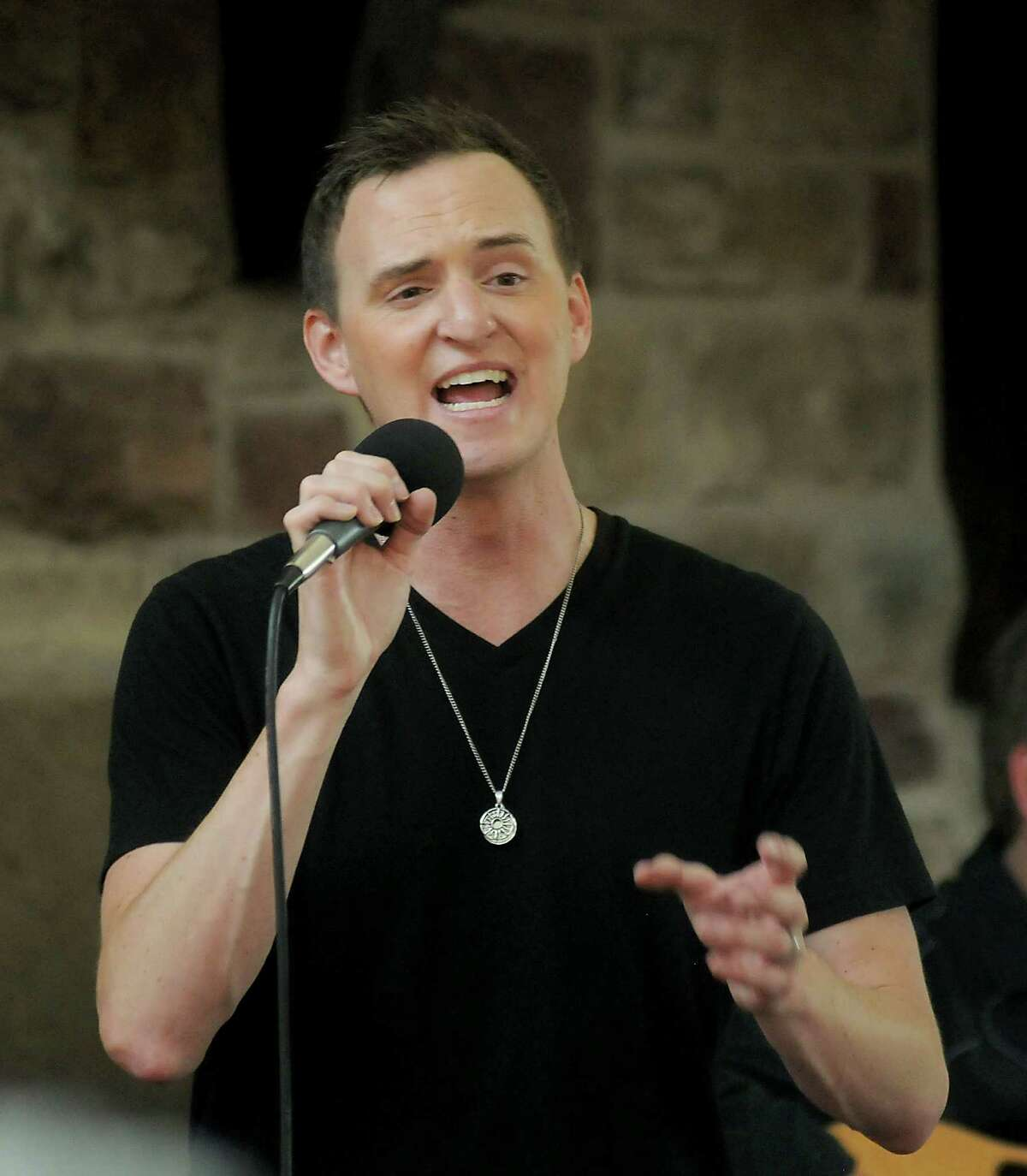 Country artist Curtis Braly performs a free show at Memorial City Mall Saturday July 25, 2015. Brady will also perform a show benefitting the Lone Survivor Foundation on Aug, 8th at Bayou Music Center.(Dave Rossman photo)