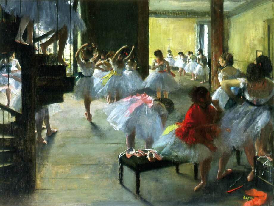 """Ecole de Danse (The Dance Class)"" Photo: Trustees Of The Corcoran Collection"