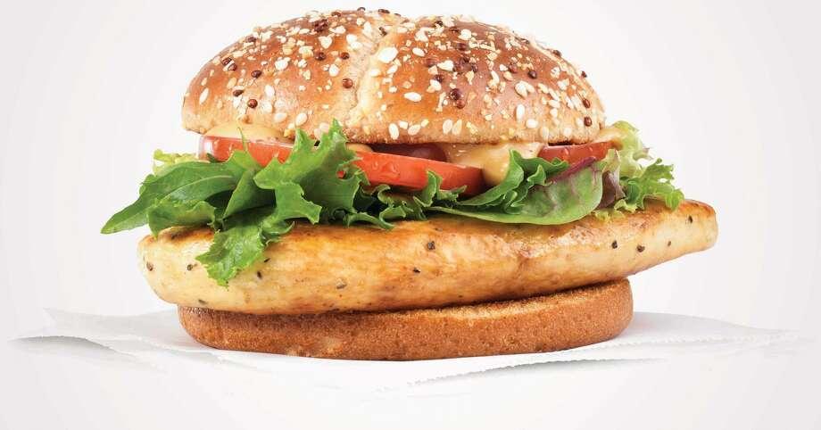 Wendy's new Grilled Chicken Sandwich. Photo: Wendy's