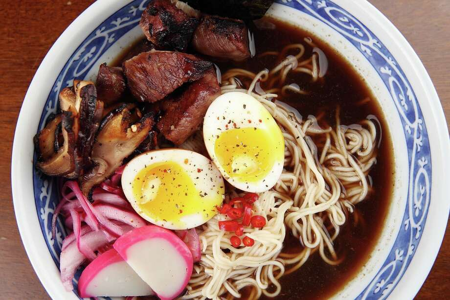Restaurateur Piran Esfahani plans to open a new restaurant, Nao Ramen House, in the former 55 Bar & Restaurant in Rice Village. Shown: Beef Ramen. Photo: Quy Tran