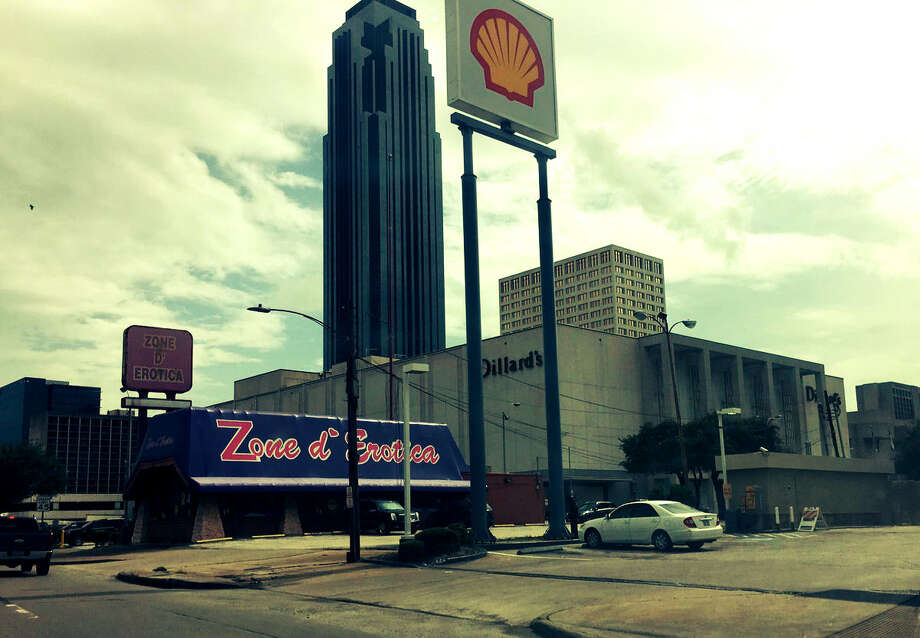 The southwest corner of Westheimer and the West Loop. (Nancy Sarnoff / Houston Chronicle)