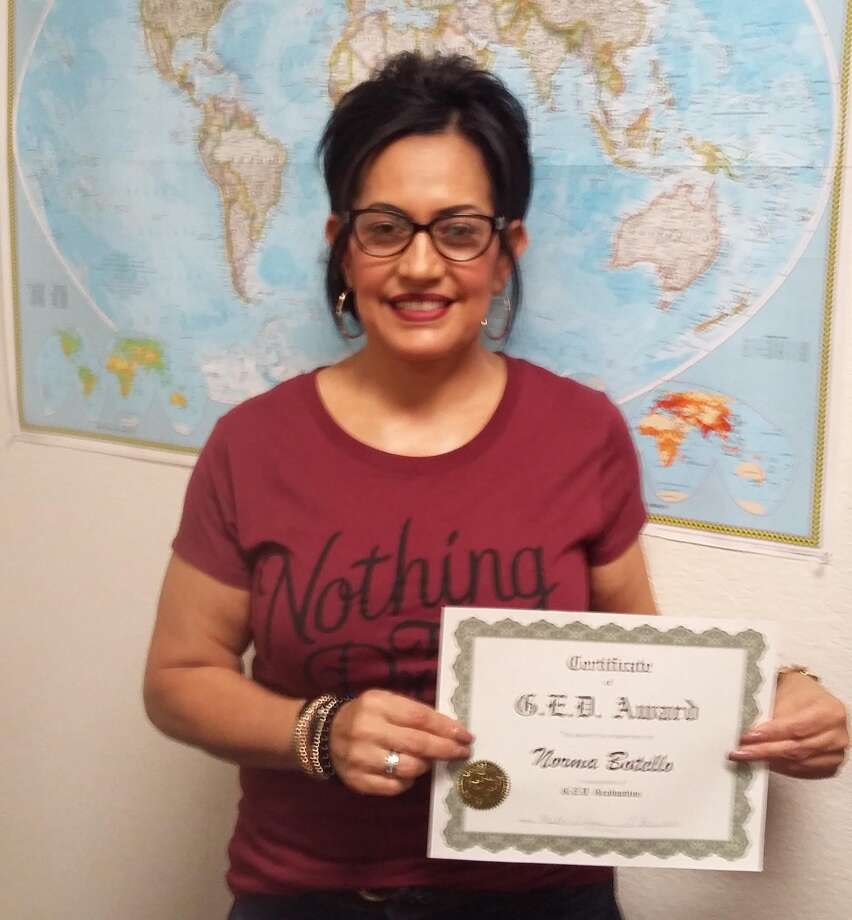 Student Earns Ged Through Plainview Adult Learning Center