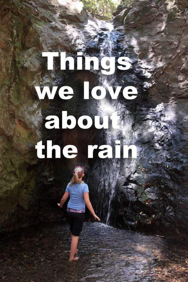 Things we love about the rain. Photo: The Chronicle
