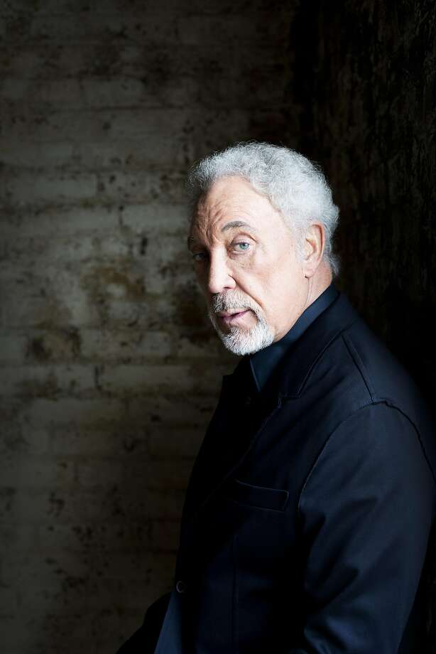 Middle-aged women threw panties and bras at Tom Jones during his show in San Francisco. Photo: Courtesy