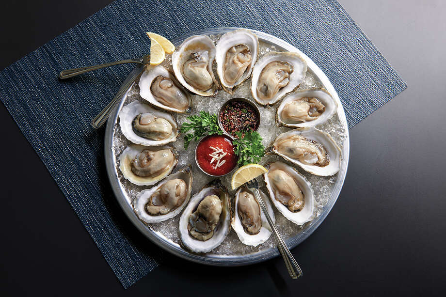 The Oceanaire Seafood room will host its first Oyster Bash on Nov. 6, featuring oysters, caviar, lobster, and shrimp paired with wine, local spirits and craft beer. Photo: Landry's Inc.