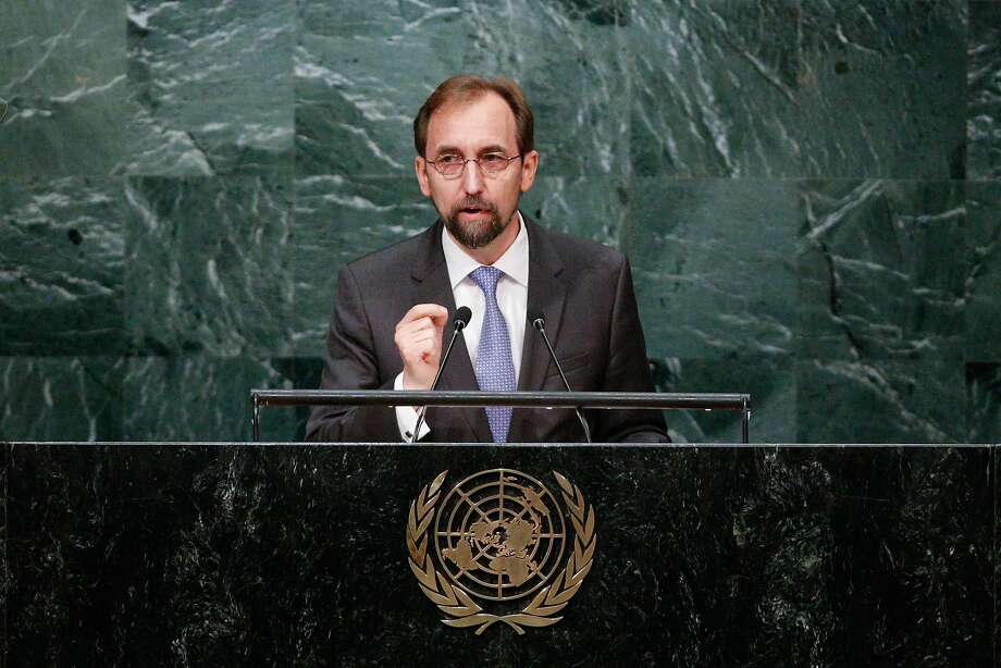 "U.N. human rights chief Zeid Ra'ad al-Hussein has generated controversy with his recent comments on ""populist demogogues"" in the U.S. and Europe. Photo: Li Muzi/Xinhua, TNS"