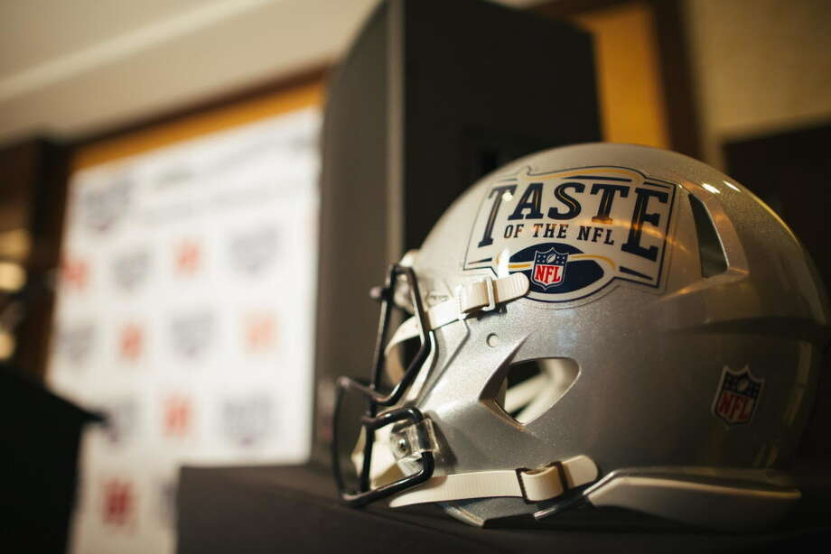 """Scenes from Taste of the NFL's """"Party with a Purpose"""" kick off event held at the University of Houston on Tuesday, Oct. 11. Photo: Courtesy Of University Of Houston"""
