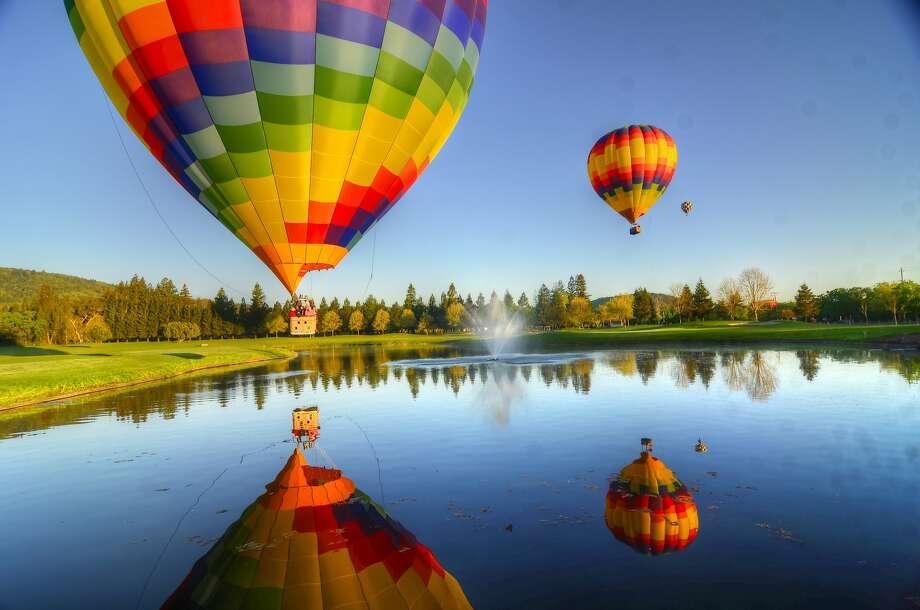 Napa Valley balloon tours. Photo: Napa Valley Balloons Inc.