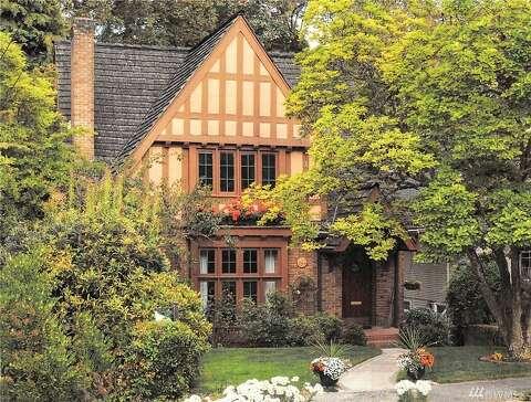 Sweet storybook Tudor for sale in Montlake - seattlepi com