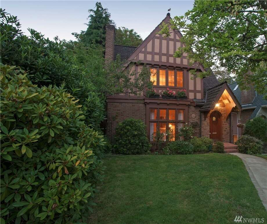 Sweet storybook Tudor for sale in Montlake - seattlepi com