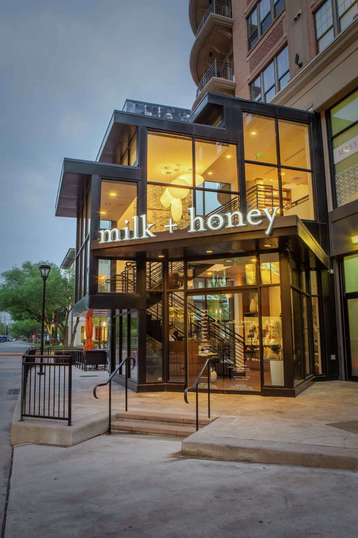 Milk + Honey Spa is located in West Ave on Kirby at Westheimer.