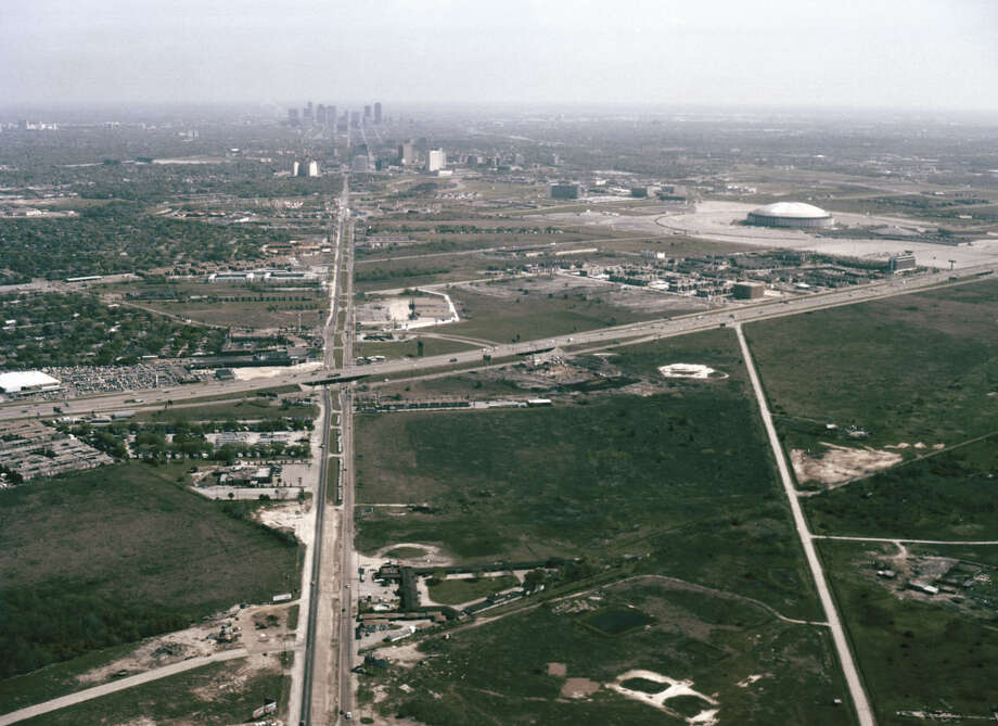 "Explore the work of Bob Bailey Studios, which shot nearly half a million pictures of Houston from 1929 until the '90sThis is a view from the south side of Houston looking north into downtown in April 1979. Click through for more vintage Houston pictures from ""Houston on the Move: A Photographic History"" by Steven R. Strom Photo: From ""Houston On The Move"" By Stephen Strom, © 2016 By The University Of Texas Press"