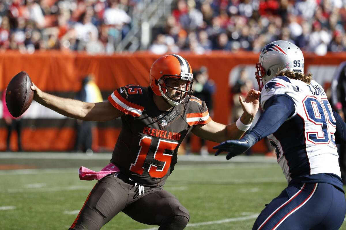 32. Cleveland Browns (0-5): Charlie Whitehurst was forced into action after rookie Cody Kessler - Cleveland's third starting quarterback of the season - was injured in the loss to New England. Last week: 32