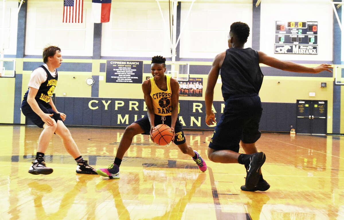 Cy Ranch finished third in the district standings last year with an 11-2 record. With Cy Lakes' De'Aaron Fox playing at Kentucky this season, the district is wide open and, though Cy Ranch has experienced some turnover, the promise to be a competitive team in 17-6A, and the Mustangs have their sights set on a district championship.