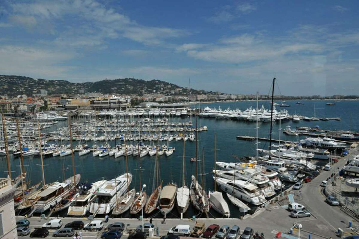 CANNES, FRANCE - MAY 12: A general view of boats and yachts in the harbour during the 63rd Annual Cannes Film Festival on May 12, 2010 in Cannes, France. (Photo by Francois Durand/Getty Images)