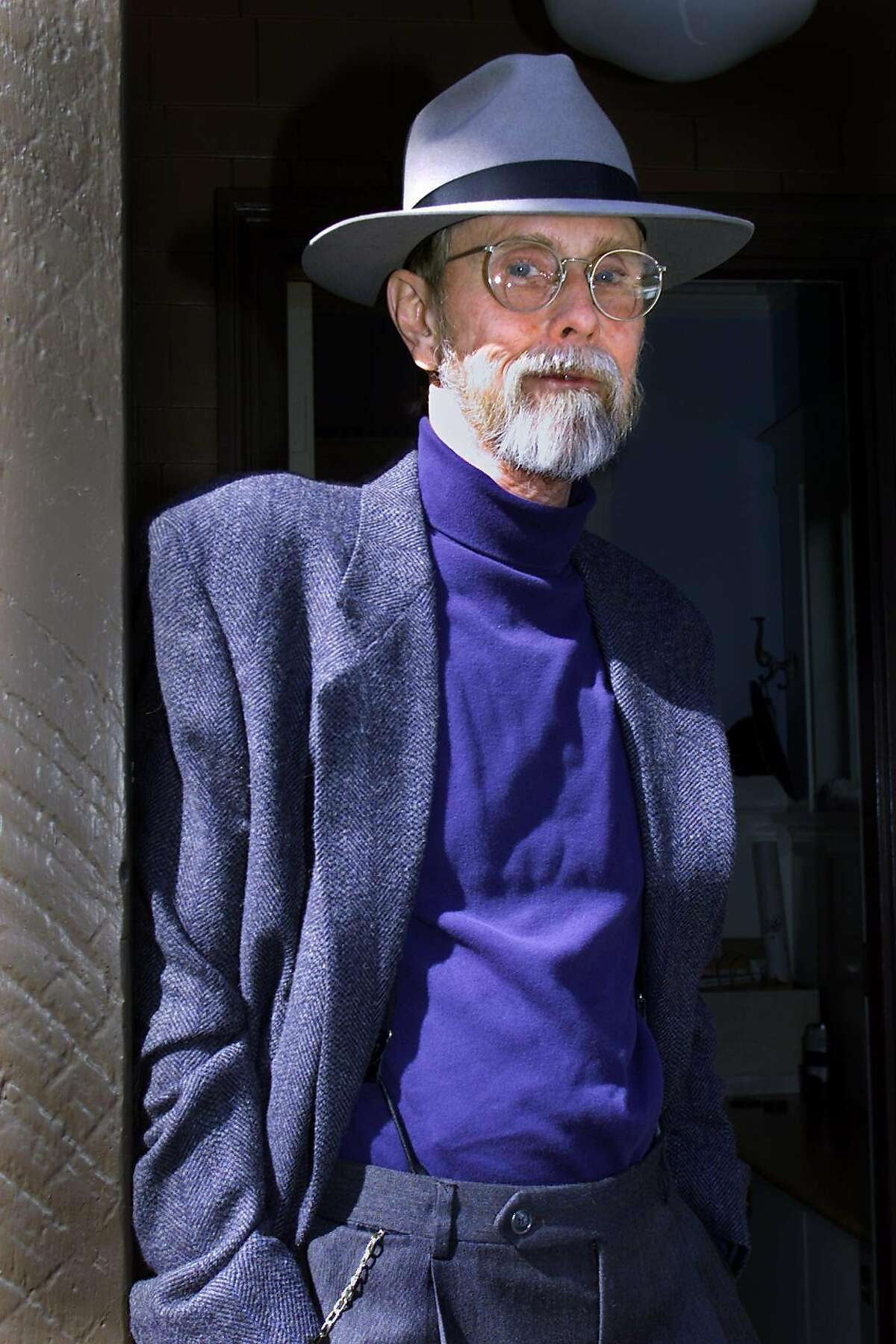 Bruce Conner in 2000