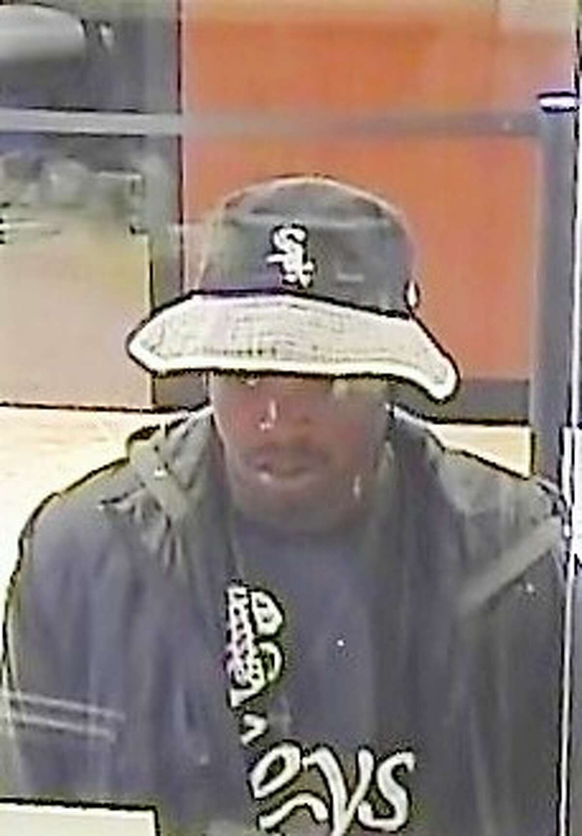 The FBI is looking for this suspect accused of robbing a J.P. Morgan Chase Bank in the 200 block of West Greens Road.