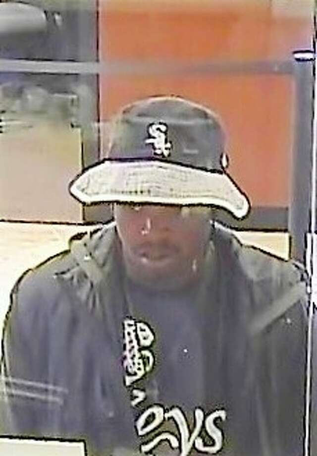 The FBI is looking for this suspect accused of robbing a J.P. Morgan Chase Bank in the 200 block of West Greens Road. Photo: Crime Stoppers