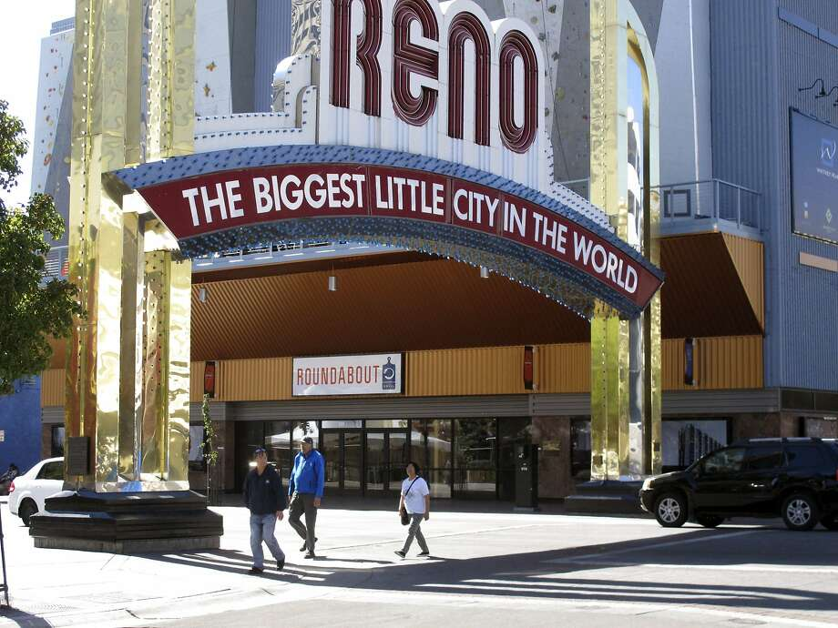 For every 10,000 LinkedIn members in the San Francisco Bay Area, 0.69 moved to Reno in the past year. Photo: Scott Sonner, Associated Press