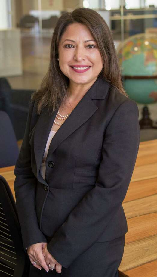 Mary Ann Perez is leading to reclaim her District 144 State Representative seat. Perez is shown on Aug. 23.