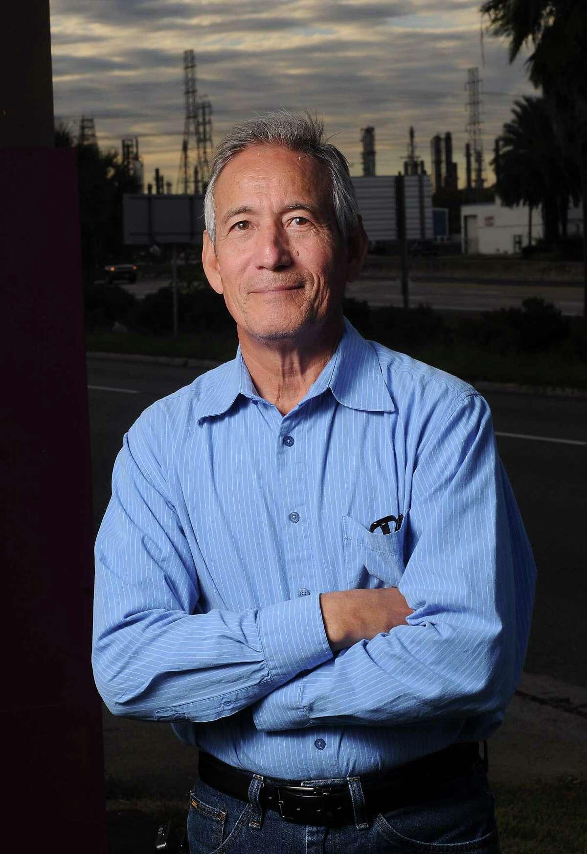 Newly elected GOP state rep Gilbert Pena in Pasadena Monday Nov. 24, 2014.(Dave Rossman photo)