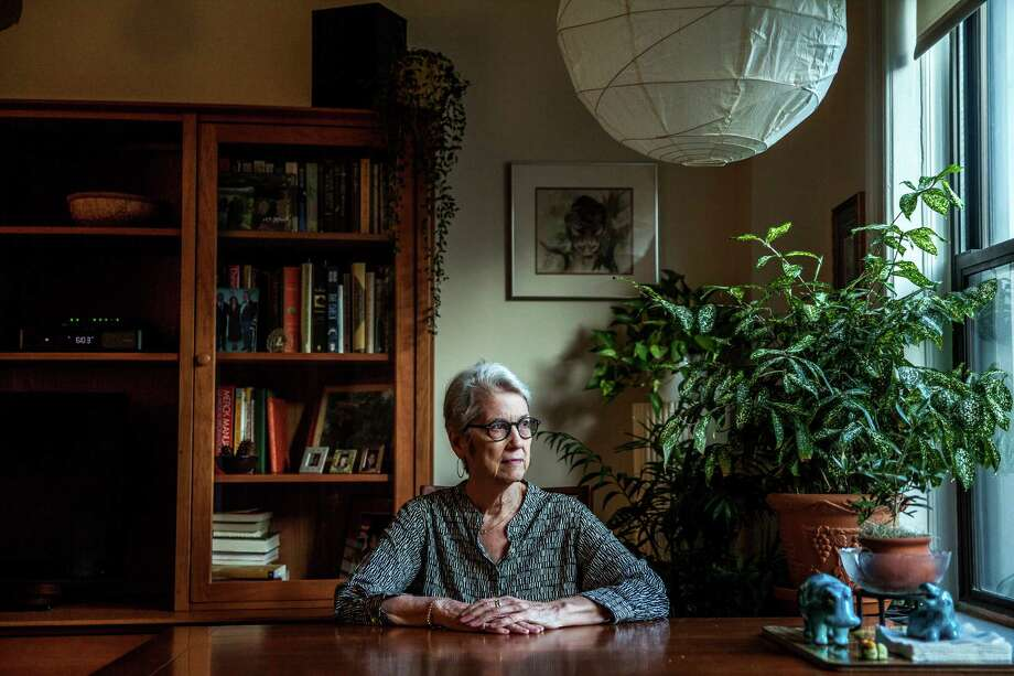 Jessica Leeds, a businesswoman who sat next to Donald Trump on a flight in 1979, said he touched her. Photo: GEORGE ETHEREDGE, STR / NYTNS