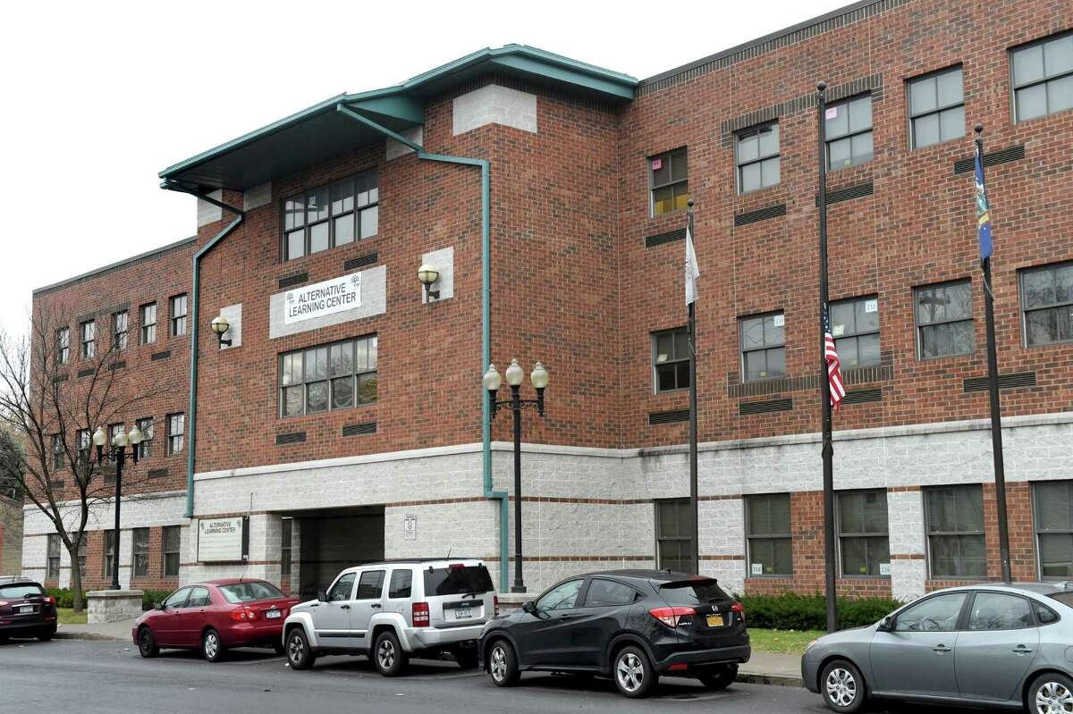 A possible contender for a new middle school in the Albany City School District on Tuesday, Dec. 1, 2015, at 50 Lark St. in Albany, N.Y. (Cindy Schultz / Times Union)