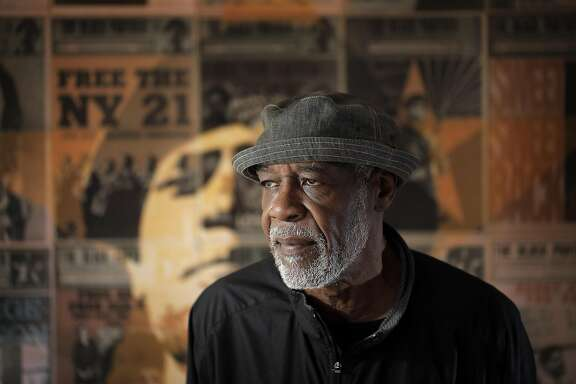 David Hilliard, one of the founders of the Black Panthers Party, at the It's All Good Bakery which used to be the headquarters of the Party in Oakland, Calif., on Wednesday, October 12, 2016.