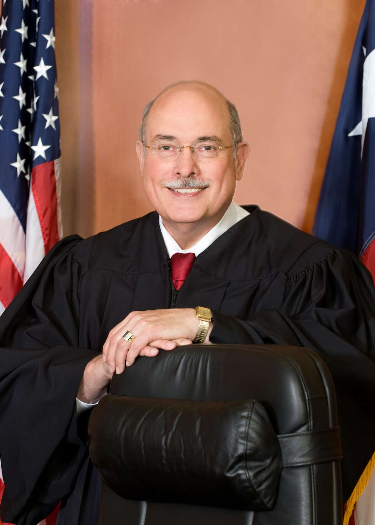Herb Richie of the 337th District Court was one of the three active Harris County judges admonished.