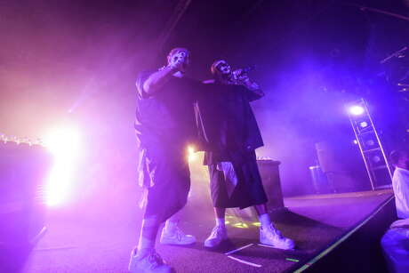 Insane Clown Posse performs at Warehouse Live near Downtown Houston TX, Wednesday October 12, 2016.