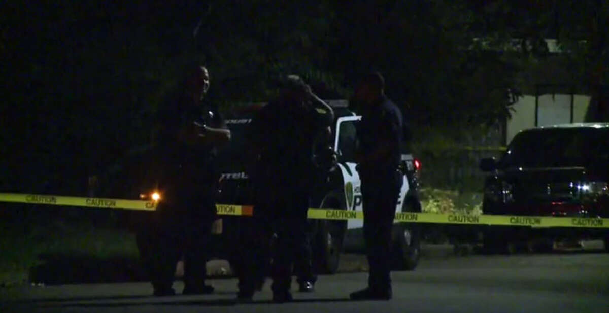 A man was found shot to death about 11 p.m. Wednesday, Oct. 12, 2016, in the 1600 block of McNeil near Elysian. (Metro Video)