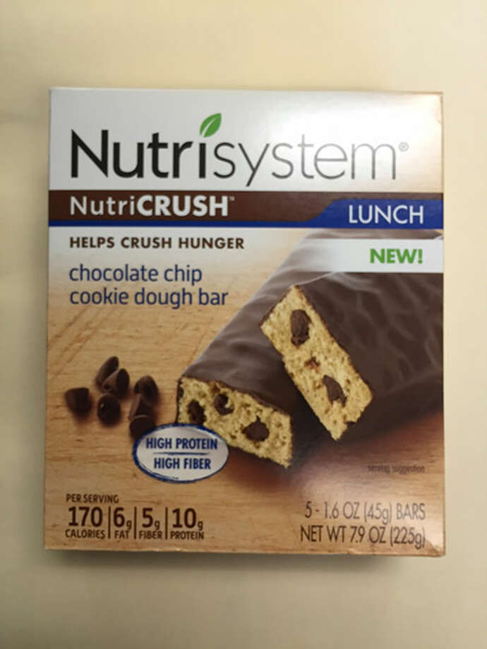 Nutricrush Chocolate Chip Cookie Dough bar Photo: Food And Drug Administration