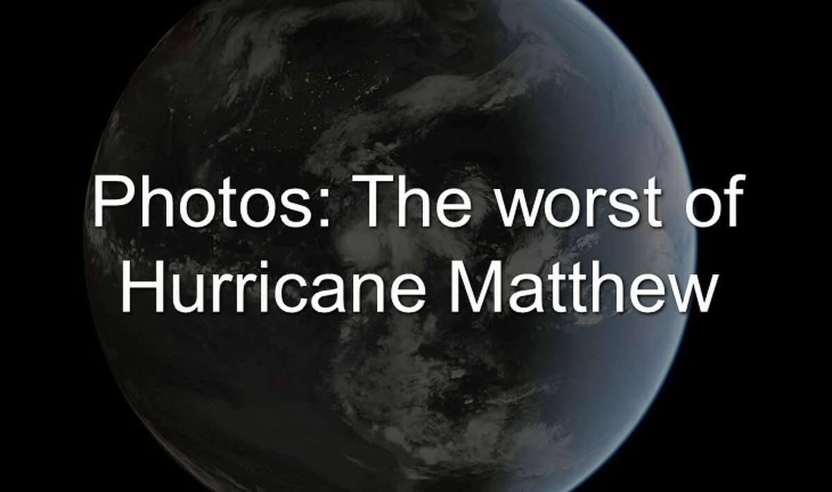 These are the photos that show the worst damage and flooding from Hurricane Matthew.