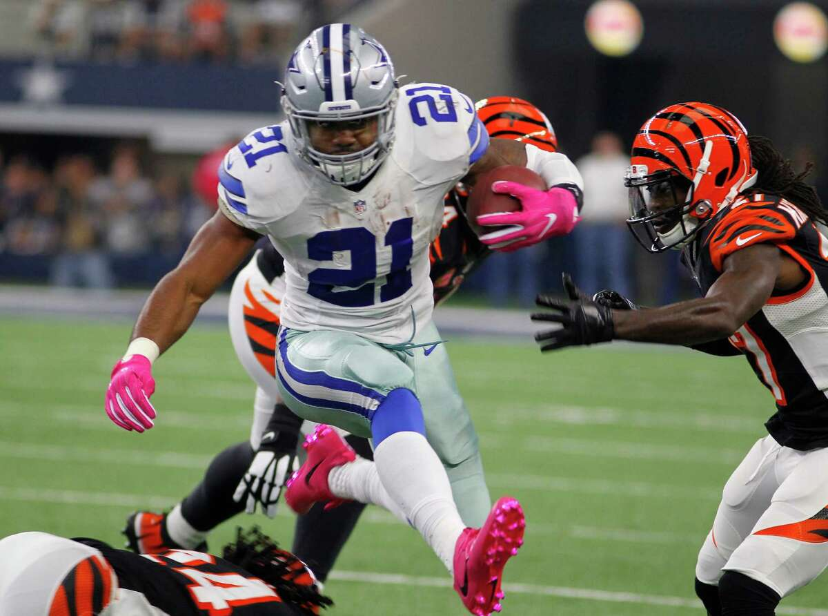 DALLAS AT GREEN BAY Obvious starters: Ezekiel Elliott (Cowboys, pictured), Aaron Rodgers (Packers), Jordy Nelson (Packers). Who to start: Green Bay has struggled against tight ends like Jason Witten (Cowboys). If you're using Dak Prescott (Cowboys) as a streamer, you could do much worse. Randall Cobb (Packers) still hasn't found the end zone in 2016, but his nine catches for 108 yards in Week 5 against the Giants was easily his best game of the season. Eddie Lacy (Packers) is averaging 5.5 yards per carry, but could be hobbled by an ankle issue. Pay attention to the practice report closely this week. Who to sit: Dez Bryant (Cowboys) has practiced this week, but I'd like to see him test his knee with game action before I recommend. Sleeper: Even if Bryant returns, Cole Beasley (Cowboys) will retain his value in PPR leagues.