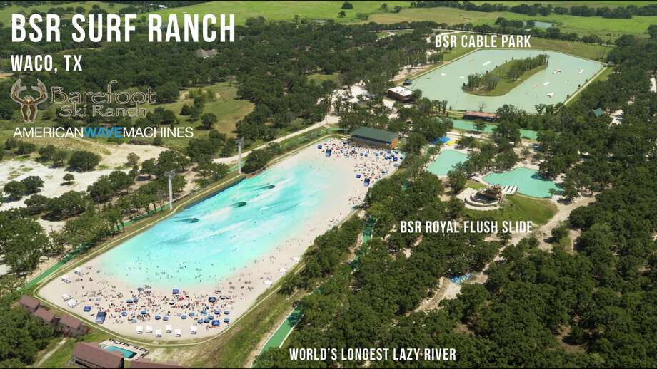 """On Wednesday, a Waco water park announced their plans for a 2-acre """"surf ranch,"""" less than a week after the opening of Texas' first surf park in Austin.Click through to see pictures of the Nland surf park in Austin."""