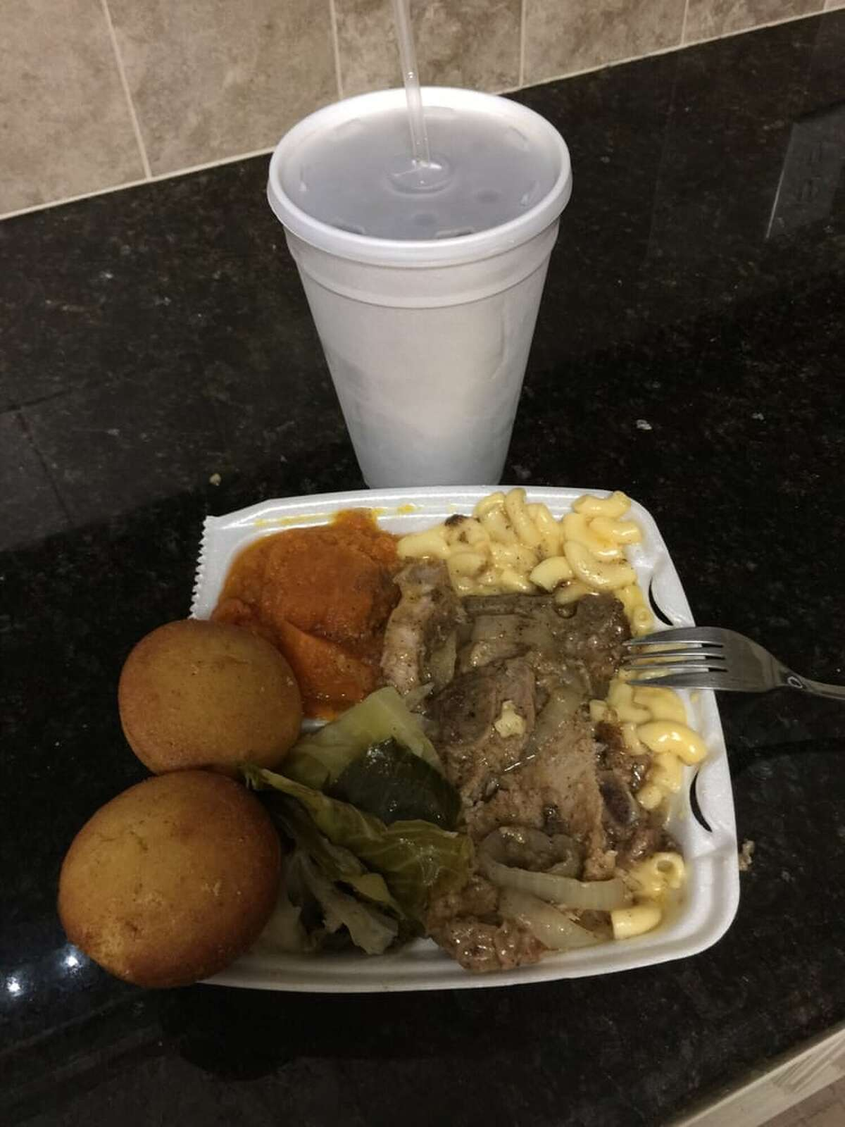 #9 This is it Soul Food 2712 Blodgett St. Houston, TX 77004 Specialty: Anything with the cabbage! Photo: Yelp/Cherie W.