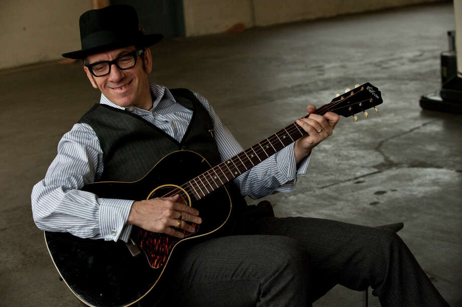 Musician Elvis Costello photographed by James O'Mara Photo: James O'Mara / James_O'Mara