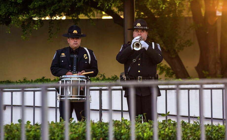 911 Commemoration Ceremony Photo: Laredo Morning Times